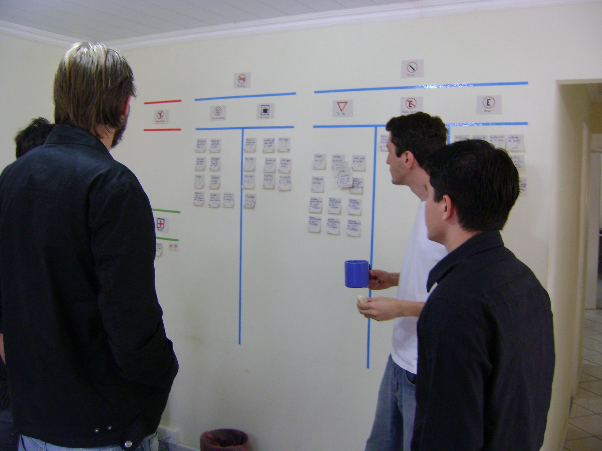 Daily meeting de uma equipe