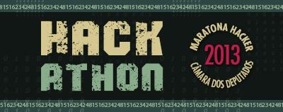 Logo da maratona hacker da Câmara dos Deputados