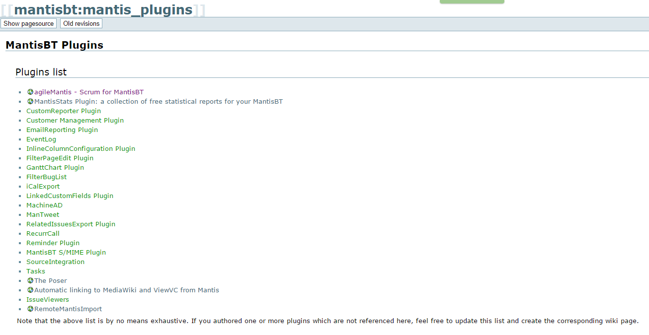 pluginsMantis1